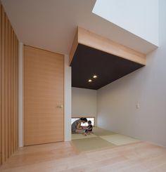 絶対欲しい!いまどきのカッコイイ和室|SUVACO(スバコ) 建築家:佐藤正彦「Y2-house・Y3-house 「縦と