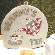 personalised name tea cosy for grandma