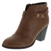 Women's Scarlett Block Heel Boot, Cognac