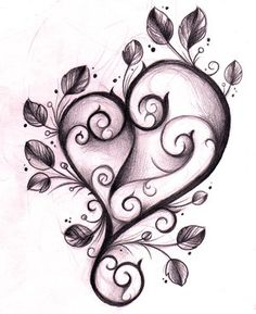 Image result for entwined heart tattoos