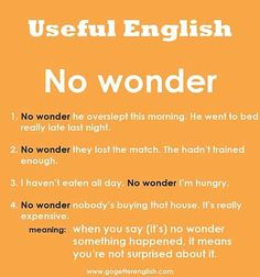 No wonder - Learn and improve your English language with our FREE Classes. Call Karen Luceti 410-443-1163 or email kluceti@chesapeake.edu to register for classes. Eastern Shore of Maryland. Chesapeake College Adult Education Program. www.chesapeake.edu/esl.
