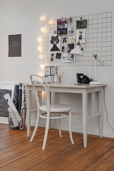 maybe if i create a study corner it will help me study more..
