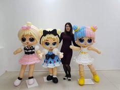Twisting Balloons, Kids Spa, Doll Party, Balloon Decorations Party, Balloon Animals, Balloon Wall, Ideas Para Fiestas, Girl Decor, Lol Dolls