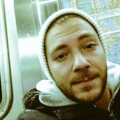 subway selfies