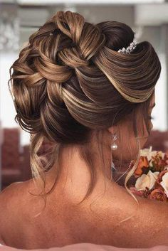 timeless bridal hairstyles elegant high updo textured with loose curls pritodava. - timeless bridal hairstyles elegant high updo textured with loose curls pritodavaidosa - Elegant Hairstyles, Bride Hairstyles, Pretty Hairstyles, Curly Hairstyles, Summer Wedding Hairstyles, Short Bridal Hairstyles, Wedding Hair Inspiration, Wedding Ideas, Bridal Hairstyle Inspiration