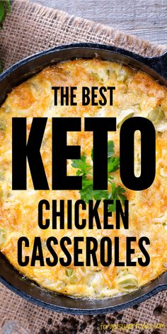 Oh yum! If you're looking for a delicious keto casserole recipe to put on the table tonight (or any night!), you'll want to check out these keto chicken casserole recipes. Choose from family favorites like Keto Nacho Chicken Casserole, Keto Chicken Alfredo Casserole, Keto Butter Chicken Casserole, and more. All low in net carbs! A great keto dinner recipe, low carb dinner recipe, and gluten-free dinner recipe. Enjoy! Gluten Free Recipes For Dinner, Low Carb Recipes, Diet Recipes, Cooking Recipes, Keto Chicken Casserole, Casserole Recipes, Low Carb Casseroles, Keto Meal Plan, Recipe For Mom