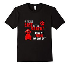 Men's Dog Pet Lover Funny Sarcastic Tshirt 2XL Black Over…