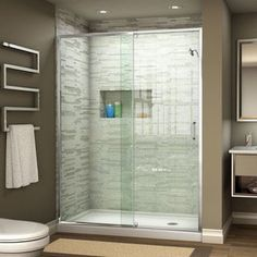 Shop for DreamLine Flex 44 - 48 in. W x 72 in. H Pivot Shower Door. Get free delivery at Overstock.com - Your Online Home Improvement Shop! Get 5% in rewards with Club O! - 18575536