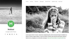 Mediuni Tumblr Theme by Aresta on @creativemarket