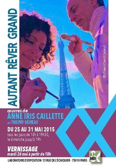 Expo Autant rêver grand ! mai 2015