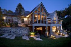 Экстерьер классического дома