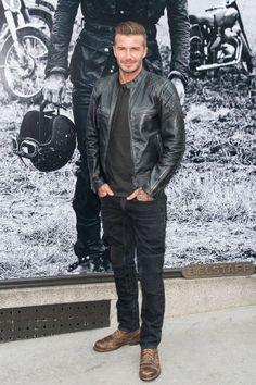 The 25 best dressed men in Hollywood: David Beckham