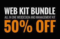 Check out [50% OFF] Web Kit Bundle by DesignSomething on Creative Market