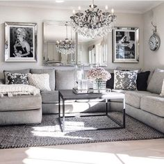 Modern glam living room decorating ideas (19)