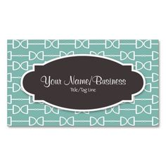 D Ring Horse Bit Business or Personal Calling Card Business Card Templates