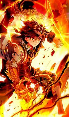 legend of the dragon king Badass Anime, Cool Anime Guys, Cute Anime Boy, Anime Warrior, Anime Demon, Anime Art Fantasy, Dark Fantasy Art, Fantasy Character Design, Character Art