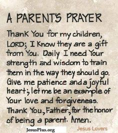 Must remind myself in the challenging moments, my children are a gift, as they challenge me, I grow into a better person.