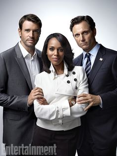 Scandal, Kerry Washington, Scott Foley, Tony Goldwyn