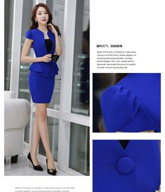 Cheap womens business skirt suits, Buy Quality womens skirt suit directly from China business skirt suits Suppliers: Summer slim women skirt suits Business formal office ladies elegant short sleeve blazer with skirt plus size work wear Business Formal, Business Attire, Plus Size Work, Office Ladies, Work Wear, Clothing Accessories, Women's Clothing, Blazer, Skirt Suits