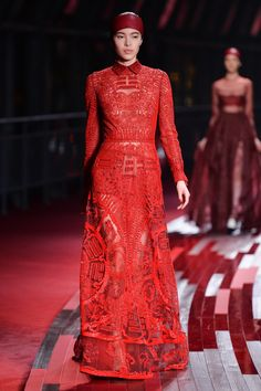 Pieces from the  Valentino shanghai collection