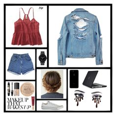 """""""I'm in control"""" by maddyb202 ❤ liked on Polyvore featuring High Heels Suicide, Aéropostale, The Horse, Converse, Max Factor, NARS Cosmetics, Rimmel, Too Faced Cosmetics, Speck and music"""