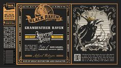 mybeerbuzz.com - Bringing Good Beers & Good People Together...: Black Raven - Grandfather Raven Imperial Stout & T...