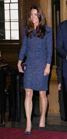 Pin for Later: You're About to Understand Why Kate Keeps Repeating This Business-Inspired Look 2012 in London