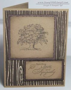 Masculine Sympathy Card by amyk3868 - Cards and Paper Crafts at Splitcoaststampers