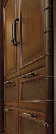 Dark Cabinetry for your Tropical Kitchen Design, would make a great pantry! - Dura Supreme Cabinetry