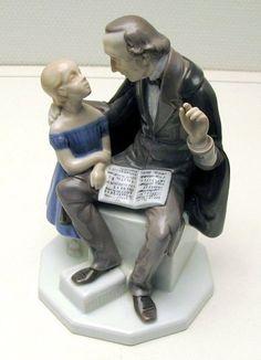H.C Andersen porcelæns figur