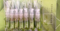 The entire Collection from COGNOSCENTI. 7 - 2.5ml spray sample vials - $40
