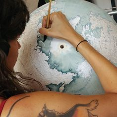 Inside Bellerby and Co., A Look at the Painstaking, Intricate Art of Globemaking - The Atlantic