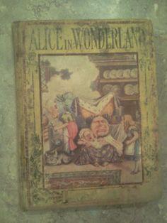 Alice in Wonderland vintage book