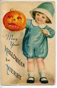 Antique Vintage Halloween Postcard Cute Girl Jack O Lantern Mendenhall Mathews Victorian Halloween, Halloween Greetings, Halloween Prints, Halloween Pictures, Holidays Halloween, Spooky Halloween, Happy Halloween, Halloween Costumes, Halloween Clothes