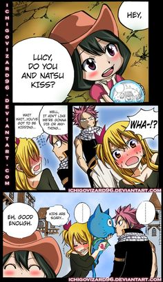 Fairy tail....In one moment i was about to explode of happines and in the other i was so disapoited... Strange thing is that Natsu imediently wanted to kiss Lucy... Maybe a litle to much fanrling.
