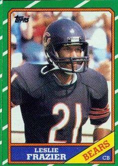 1986 Topps #26 Leslie Frazier - Chicago Bears (Football Cards) by Topps. $0.88. 1986 Topps #26 Leslie Frazier - Chicago Bears (Football Cards)