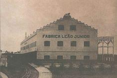 PRIMEIRA FÁBRICA DA EMPRESA FUNDADA POR AGOSTINHO ERMELINO DE LEÃO JUNIOR NA CURITIBA DE 1901.