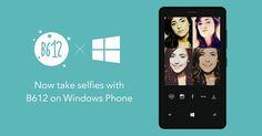 LINE's selfie camera app B612 comes to Windows Phone.
