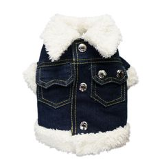 Fashion Warm Denim Dog Coat for Dog Jacket Dog Clothes Cozy Handsome Pet Coat Pet Clothes - http://www.thepuppy.org/fashion-warm-denim-dog-coat-for-dog-jacket-dog-clothes-cozy-handsome-pet-coat-pet-clothes/