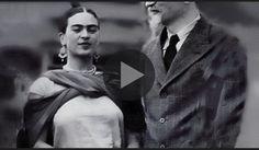 Un raro documento pubblicato su YouTube: è il 1933 e il dissidente russo è ospite nella casa dei due artisti messicani. Insieme alla moglie, il rivoluziona