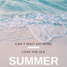 Ocean, Summer and Beach Quotes