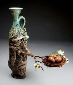Mitchell Grafton - Grafton Pottery - Face Jug - George