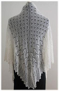 Tahoe Shawl pattern by Nazanin S. Fard
