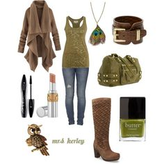 Olive( I LUV) this color