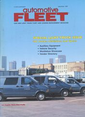 December 1987 Issue - Automotive Fleet Magazine