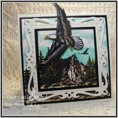 ODBDSLC240 Our Daily Bread Designs Stamp Sets:  On Eagles Wings, Keep Climbing