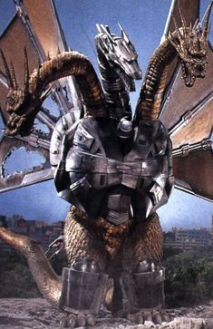 Mecha King Ghidorah: Just when you thought a badass monster couldn't get more badass!