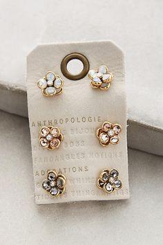 Secret Garden Bejeweled Studs #anthrofave #anthroregistry