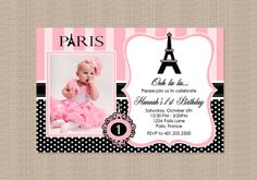 Two black gift bags with paris eiffel tower souvenir labels in hot paris birthday party invitation by honeyprint on etsy 1500 filmwisefo
