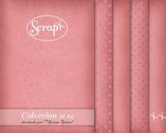 diseñado en 2014; colección de papel creado especialmente para la Feria Scrap+; descargables gratuitos; naltin (el blog de marisa bernal): papeles para scrapbooking